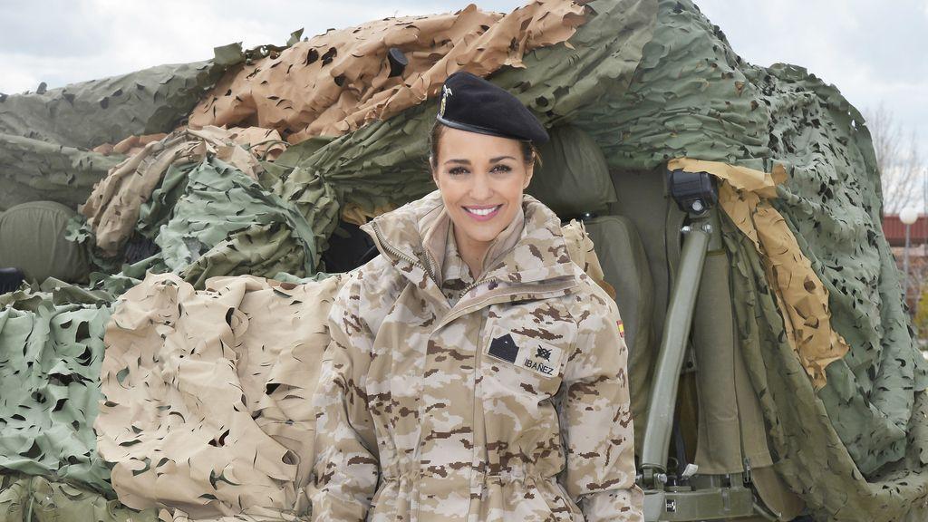 Paula Echevarría es Martina Ibáñez, sargento primero de la BRIPAC