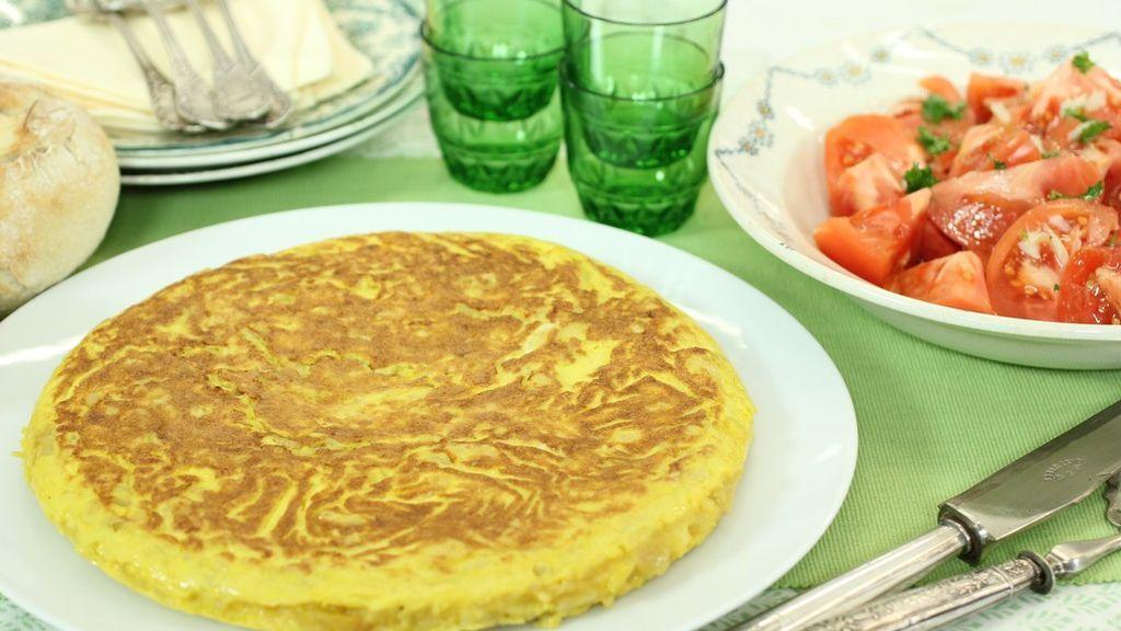 Tortilla de patatas: Ingredientes y receta