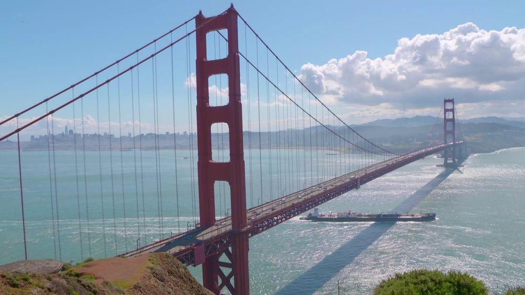 ¡Las vistas más impresionantes de San Francisco!: el Golden Gate es el puente es uno de lo más largos del mundo