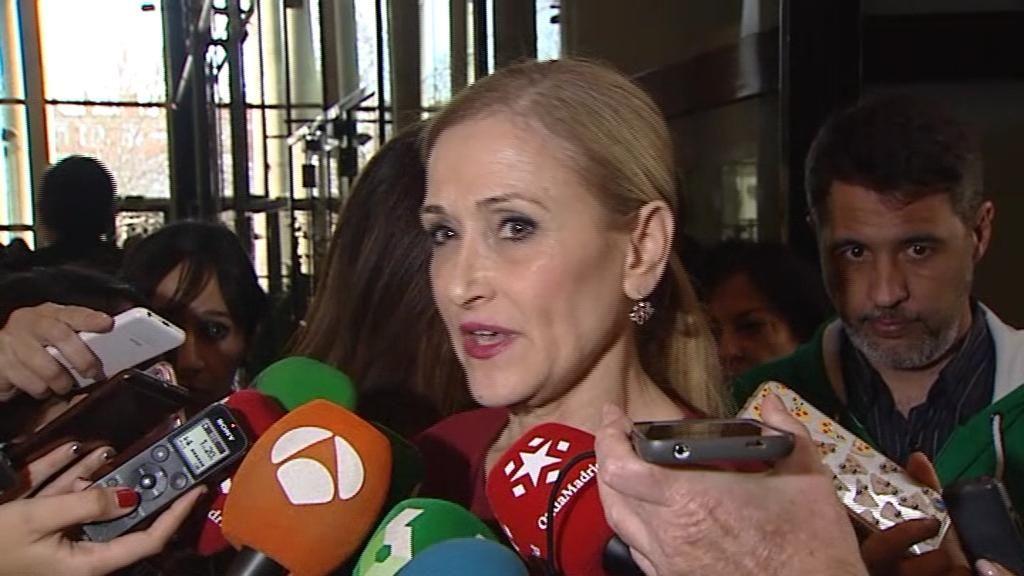 """Cristina Cifuentes: """"Que la Universidad lleve el caso a la Fiscalía es una buena noticia"""""""