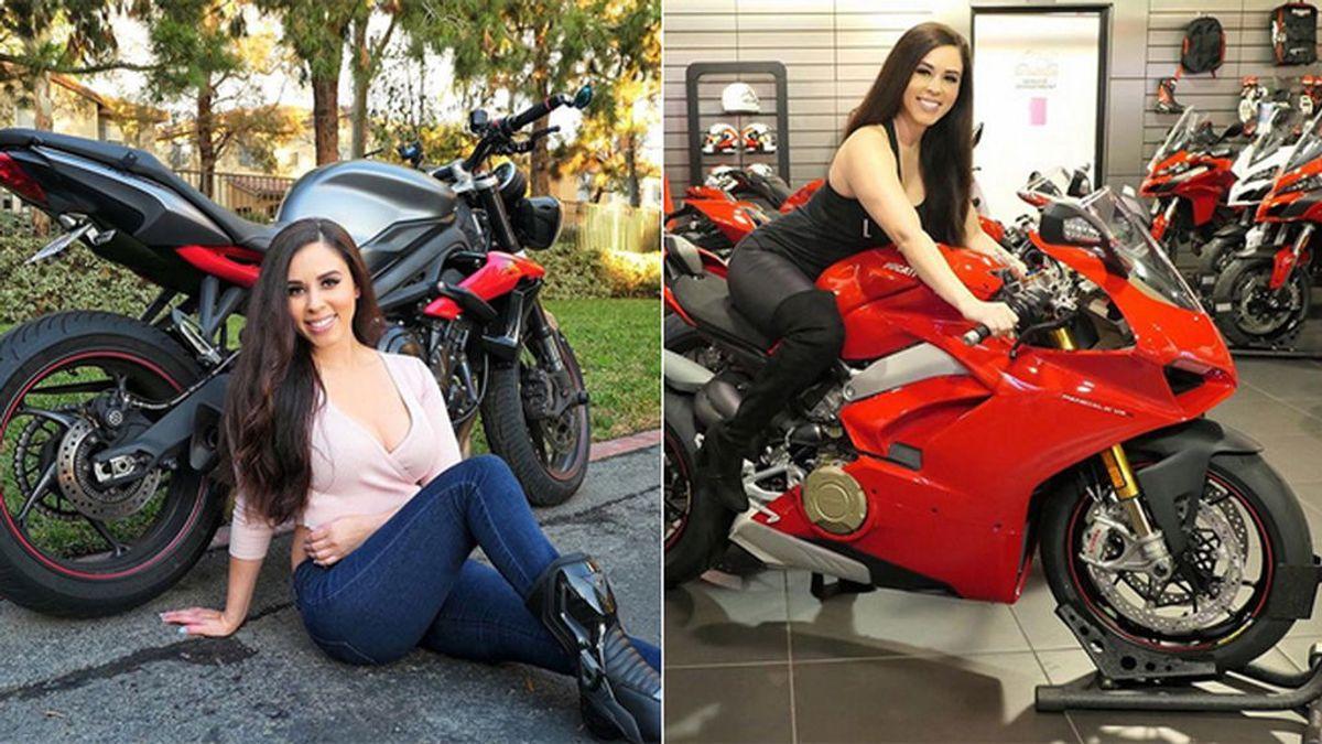 Fallece Annette Carrion, 'influencer' del motociclismo en Instagram, tras estrellarse con su moto en una curva en California