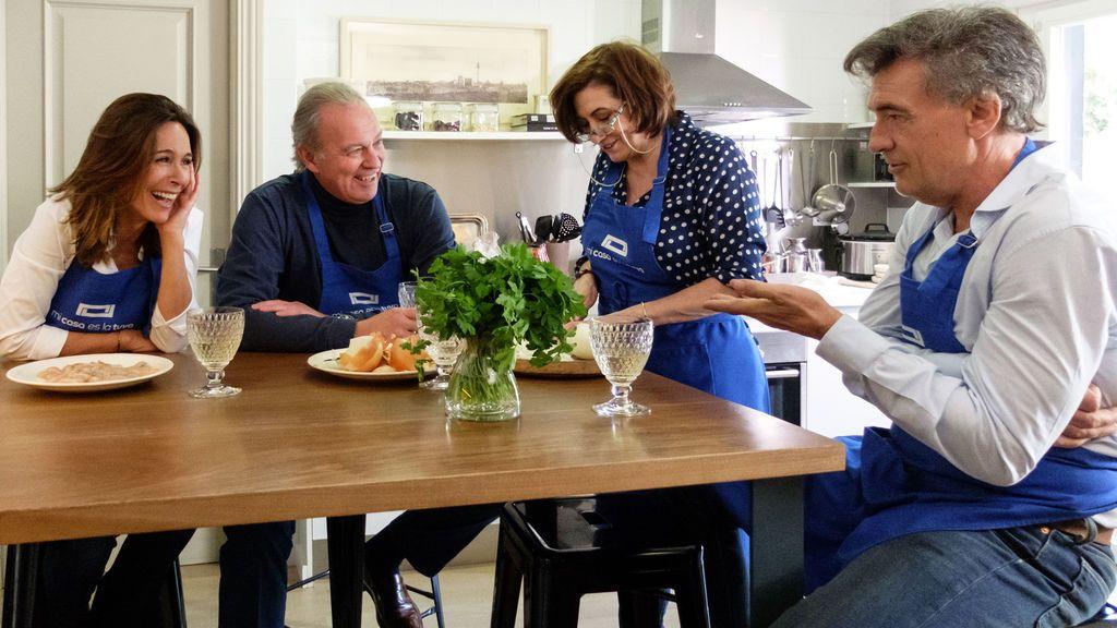 Reencuentro de los actores de 'Médico de familia' en 'Mi casa es la tuya'.