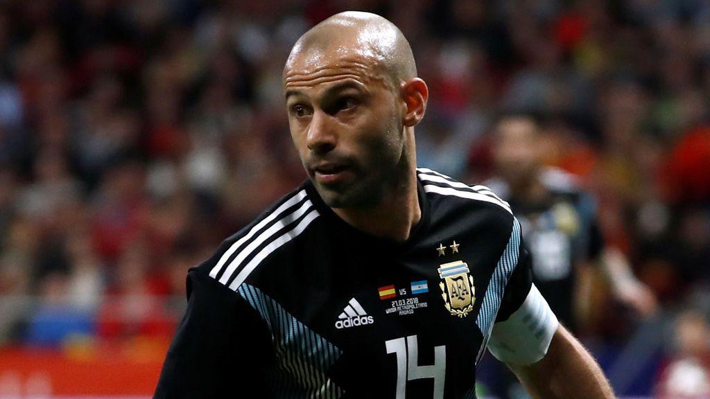 En Argentina señalan que Mascherano podría quedarse sin ir al Mundial tras el 6-1 en el Metropolitano