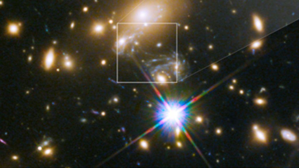 Ícaro, la estrella más lejana jamás observada
