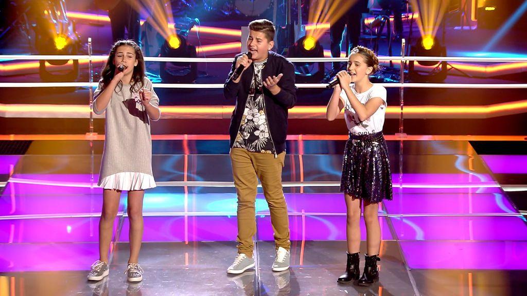 Emoción a flor de piel en 'La voz kids' con la versión de 'Contigo', de Sabina