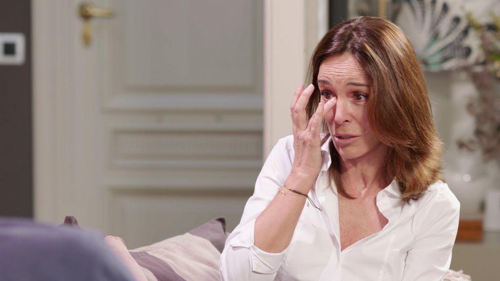 Lydia Bosch rompe a llorar al recordar las últimas horas de vida de su padre