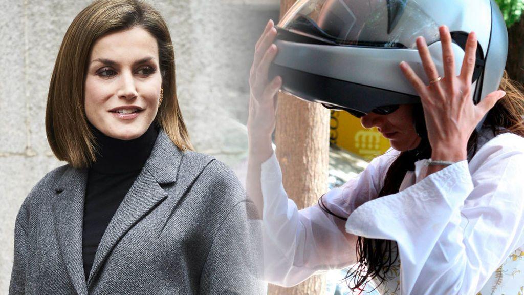 """Telma Ortiz saca la cara por su hermana: """"Absolutamente, hay que ponerse en la piel de Letizia"""""""