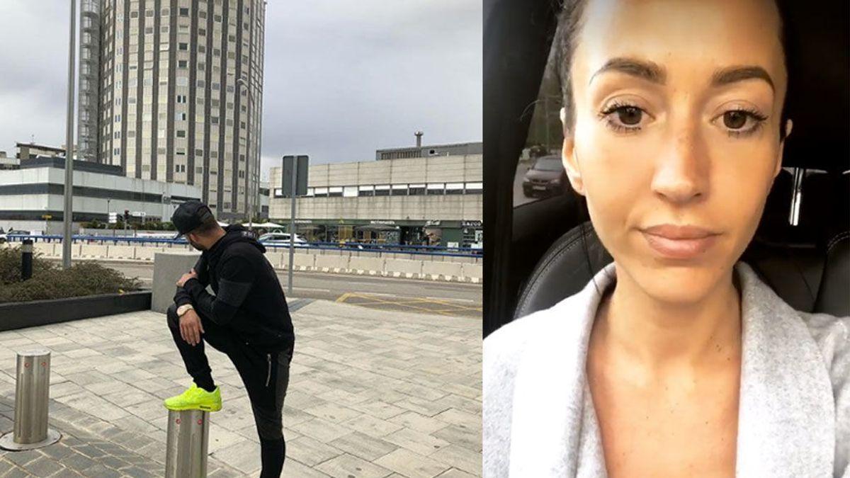 Jesé y Aurah se cruzan en La Paz y, según ella, el encuentro acaba con la seguridad echando a los amigos del futbolista