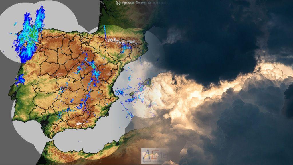 Rayos y truenos: prepárate para las tormentas eléctricas que trae el frente