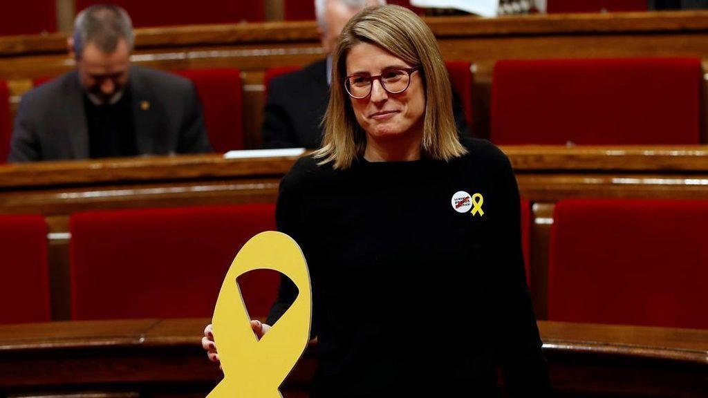 """Elsa Artadi dice que la investidura de Jordi Sànchez está """"atada"""" con ERC y la CUP"""