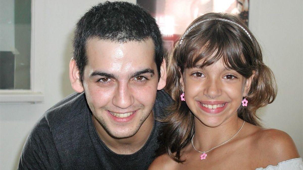 Fran Perea conoció a Ana Guerra cuando solo era una niña, ¡y ha rescatado su foto con ella!