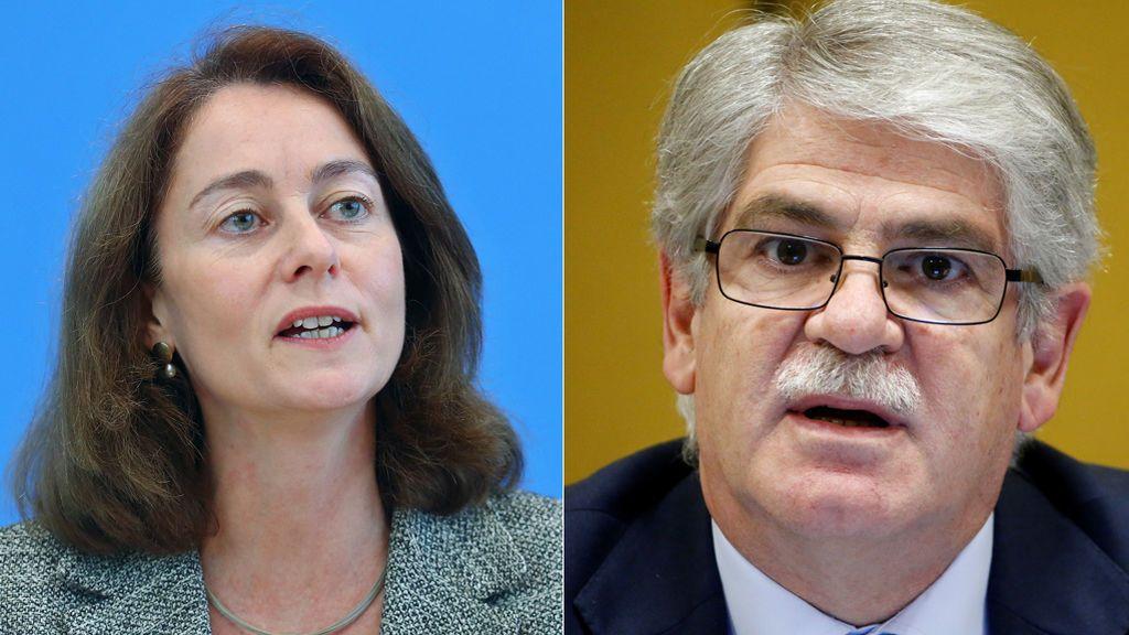 """El Gobierno ve """"desafortunadas""""  las palabras de la ministra alemana sobre Puigdemont"""
