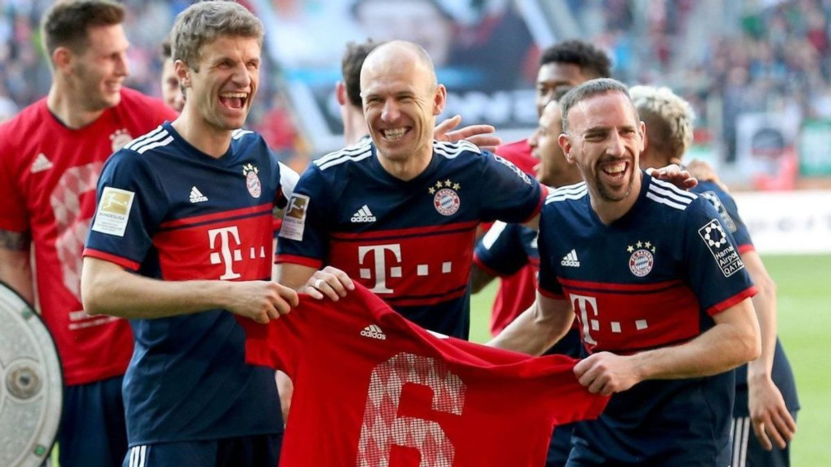 El Bayern Múnich se proclama campeón de la Bundesliga por sexta vez consecutiva