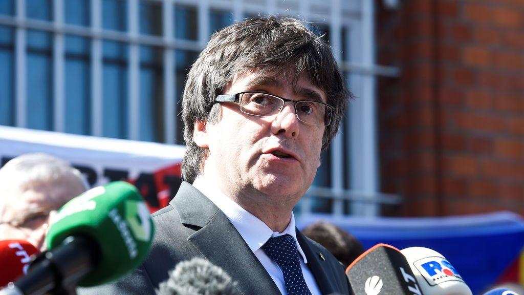Puigdemont comparecerá ante los medios a las 12 de este sábado en Berlín