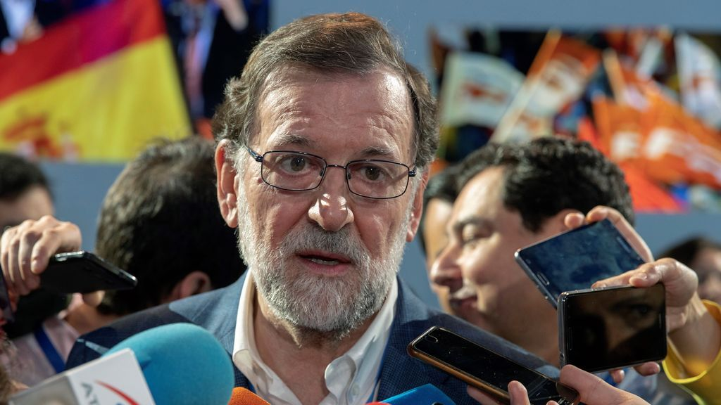 Mariano Rajoy, en Sevilla