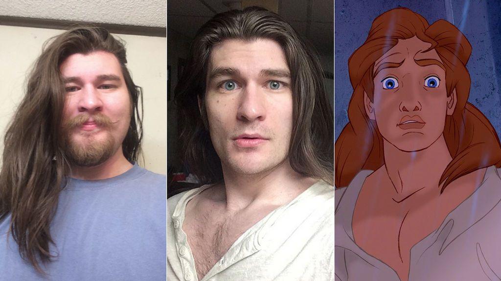 """Pierde """"mucho peso, tristeza y un poco de bello"""" y logra parecerse a un príncipe de Disney"""