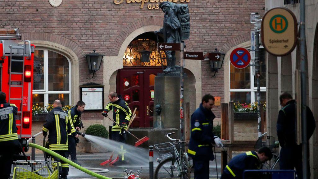 La Policía alemana identifica a las dos víctimas mortales del atropello en la ciudad de Münster