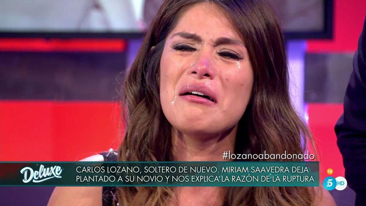 Miriam Saavedra se derrumba sacando los trapos sucios de su relación con Carlos Lozano