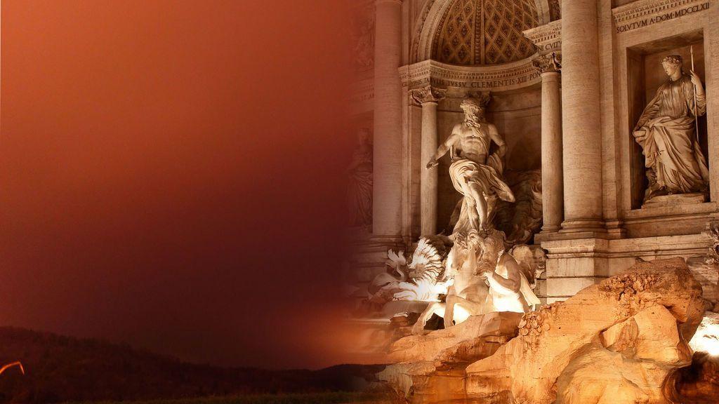 El polvo sahariano mueve ficha: la Fontana de Trevi (Italia) podría ser la siguiente casilla