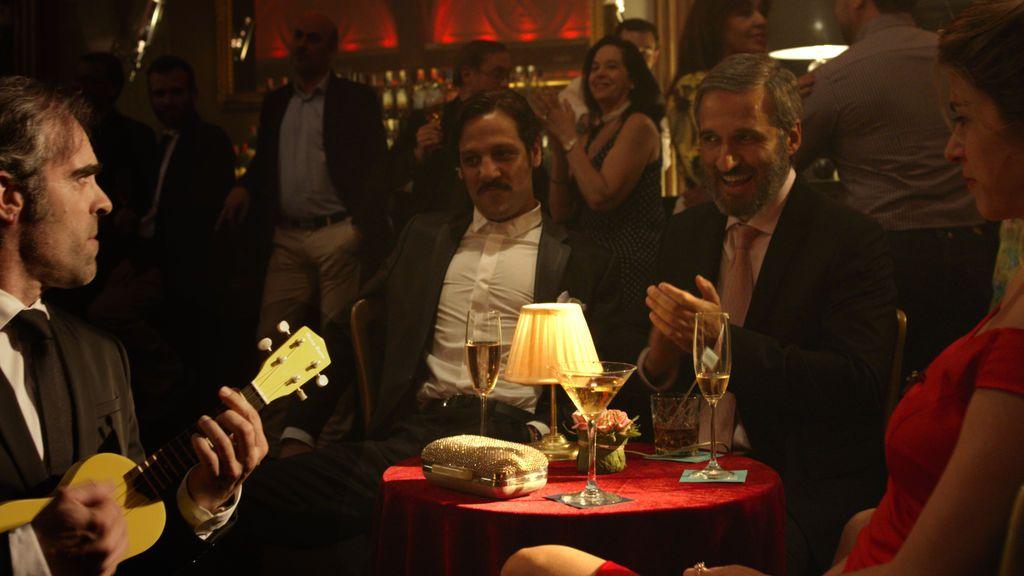Una de las escenas de 'Yutacán', la nueva película de Daniel Monzón y Telecinco Cinema.