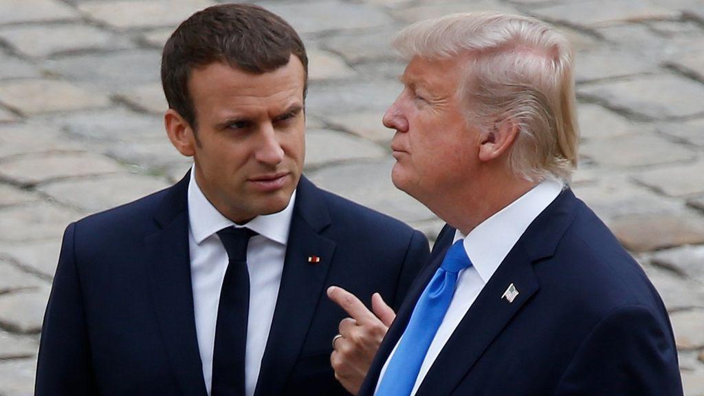 Trump y Macron mantienen una conversación telefónica tras el presunto ataque químico en Duma