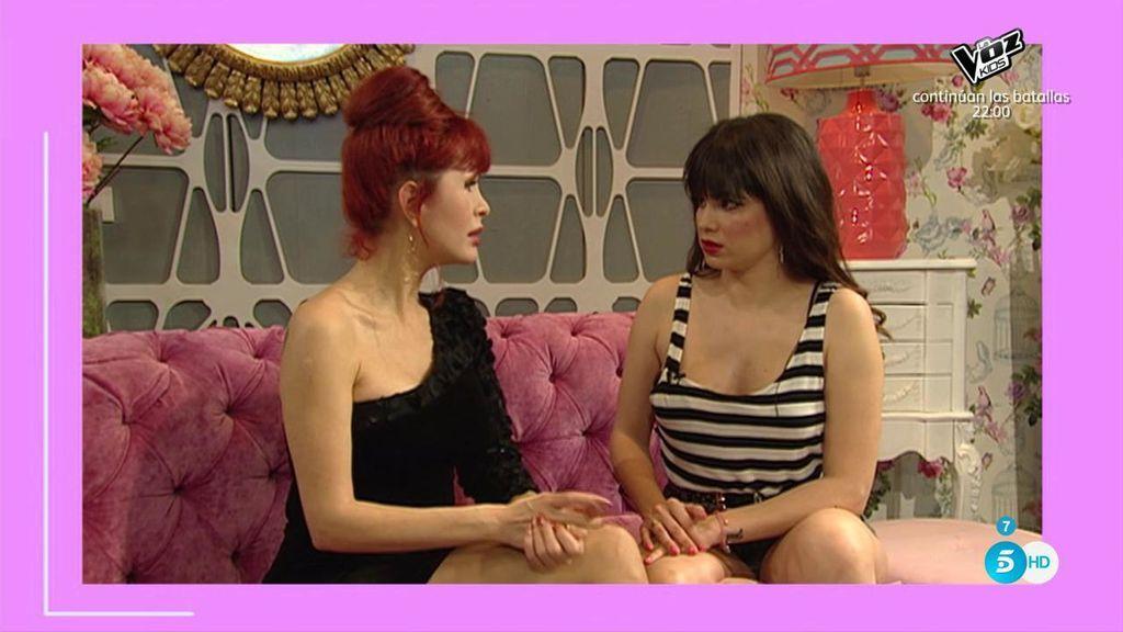 """Yurena se emociona hablando de su madre: """"Lo dejó todo para apoyarme"""""""