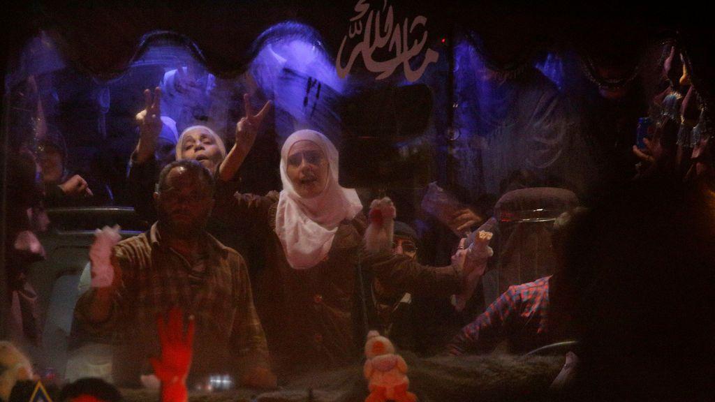 Liberación de rehenes en Siria