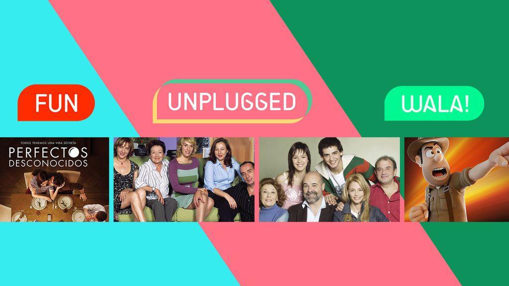 Mitele incorpora tres nuevos canales a su oferta de contenidos: fun, unplugged y wala!