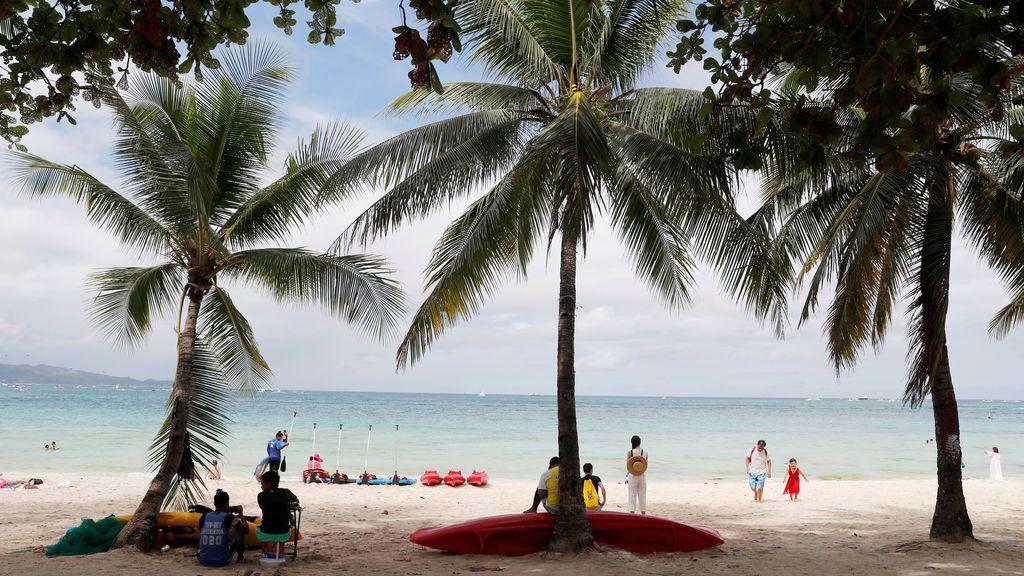 Vista paradisiaca de una playa