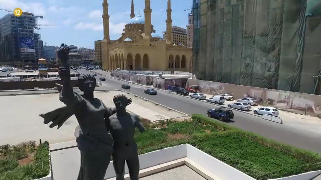 """""""Oriente y Occidente se encuentran"""" en el caos de Beirut"""