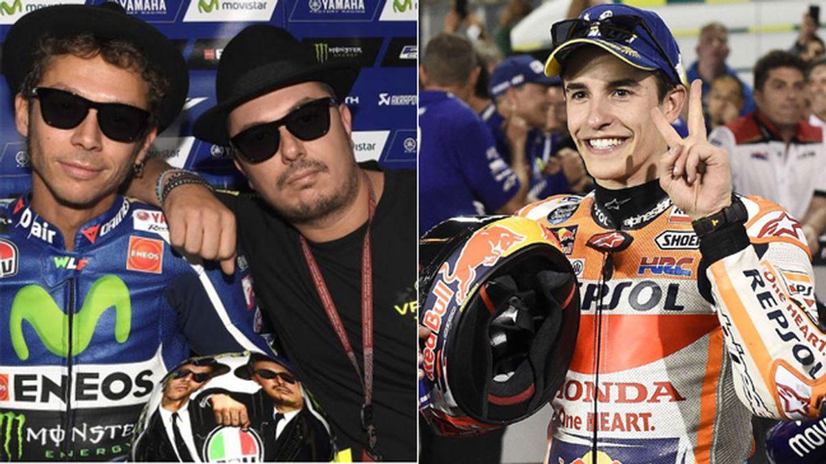 Así es Uccio Salucci, el amigo de Valentino Rossi  que se encaró con Marc Márquez en Argentina