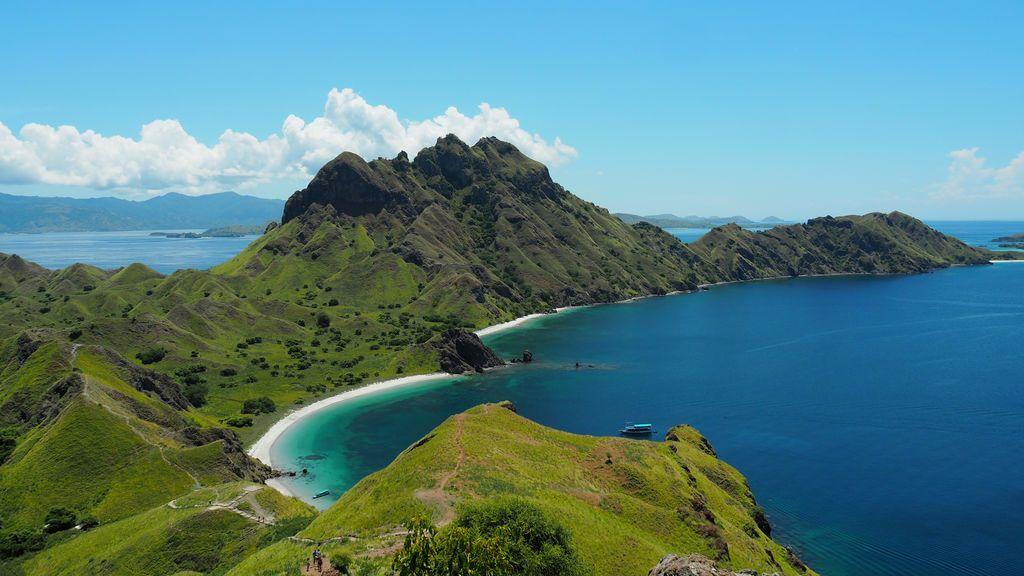 Imagen paradisíaca de Indonesia