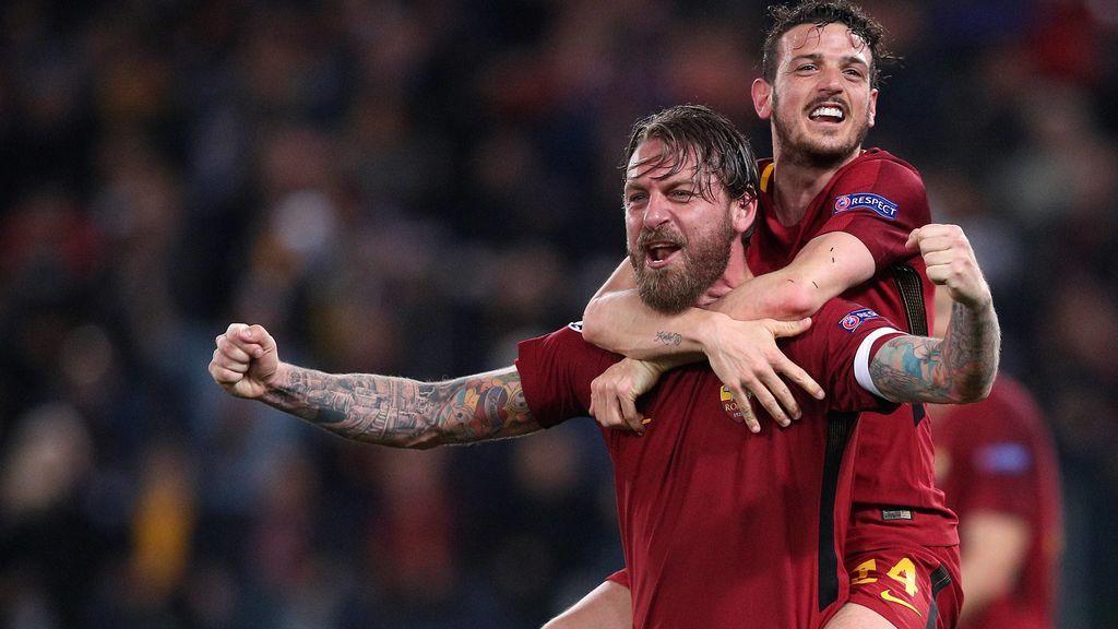 El 'comunity manager' de la Roma aporrea el teclado con el milagro ante el Barça y su tuit da la vuelta al mundo