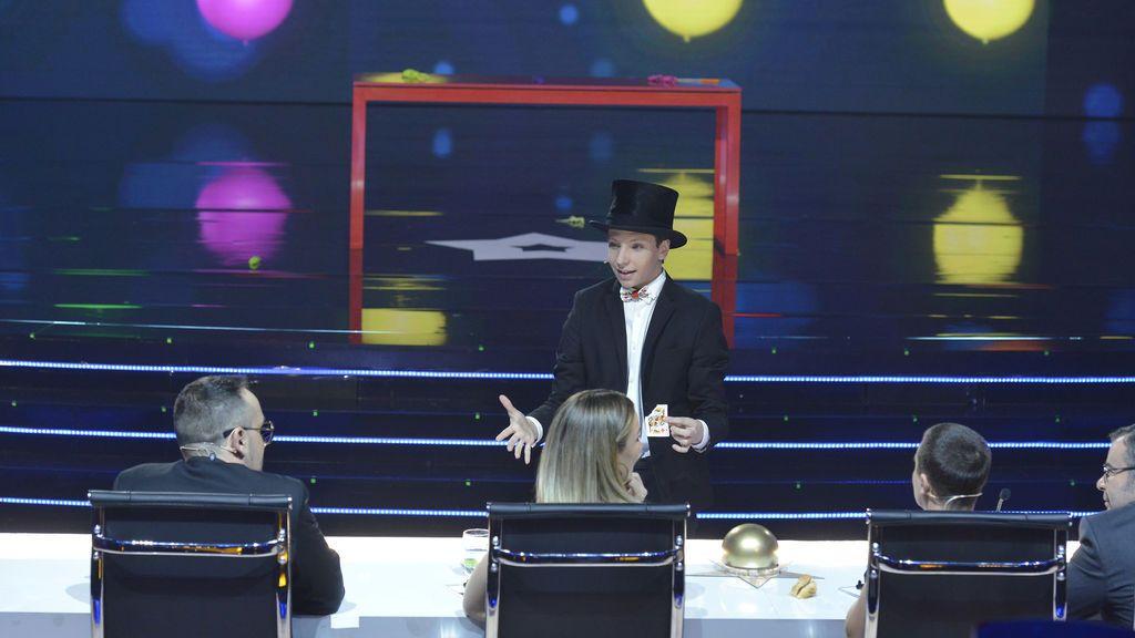 Concursante final 'Got talent'