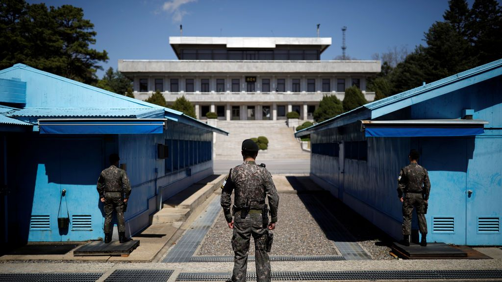 Guardia en Corea del Sur