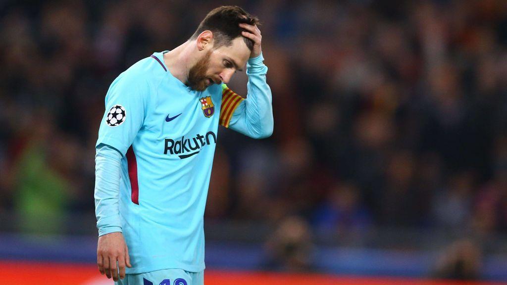 Argentina 'celebra' la eliminación de Messi en la Champions League