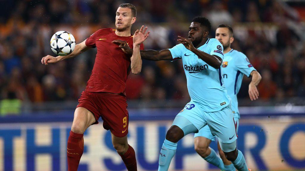 Crónica del AS Roma - FC Barcelona, 3-0