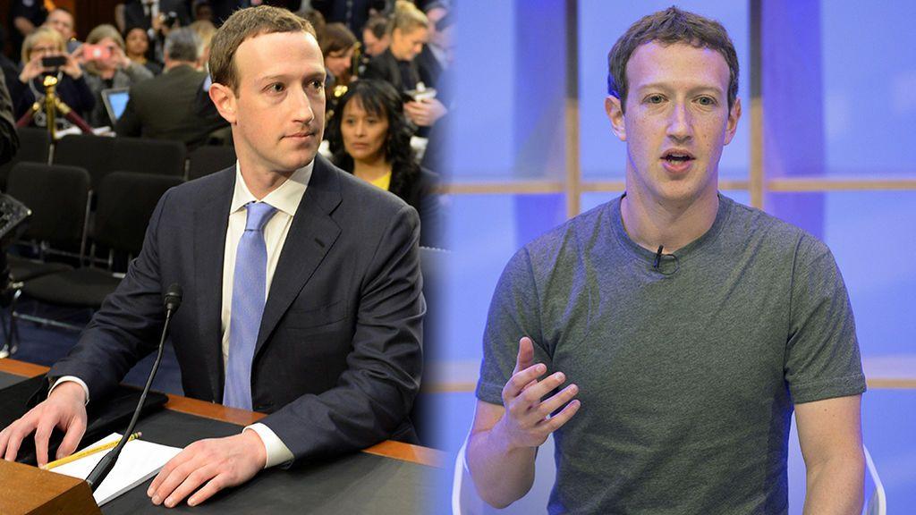 Cuestión de matices: ¿Por qué Zuckerberg ha cambiado su camiseta gris por el traje?