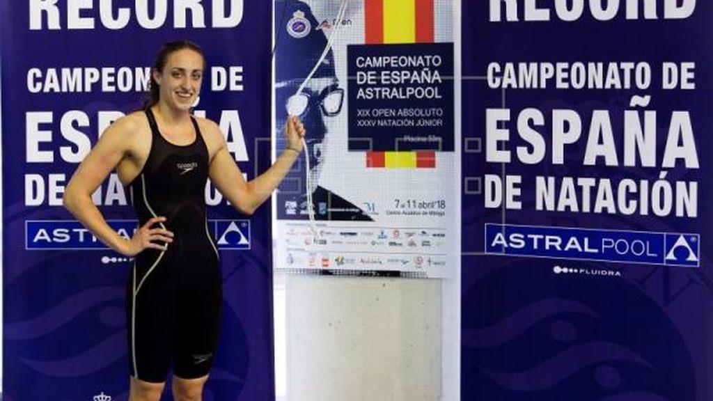 (Crónica) Lidón Muñoz bate el récord de España en los 50 metros libre