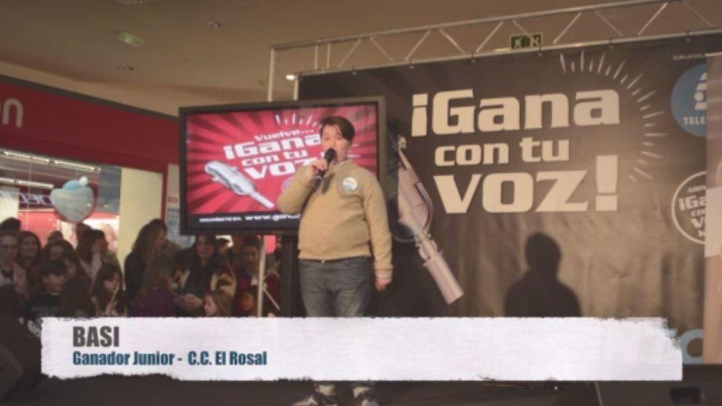 Basi triunfa en las actuaciones de 'Gana con tu voz Kids' en Ponferrada