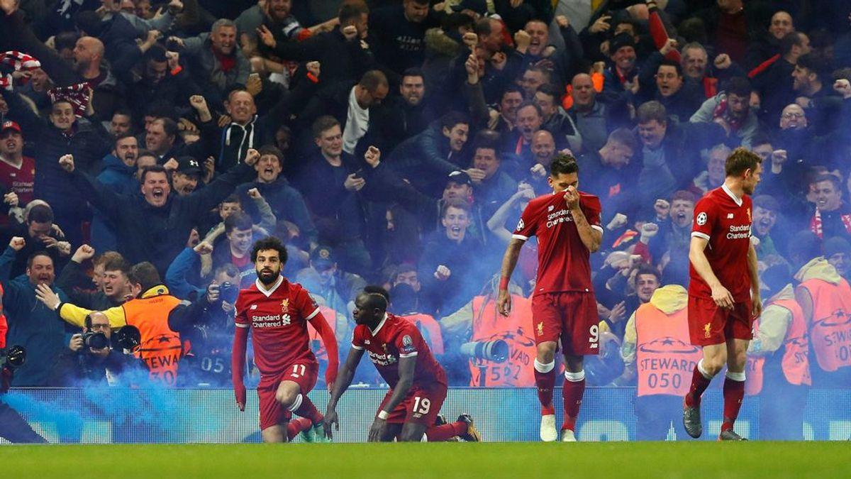 Un aficionado del Liverpool es brutalmente agredido por celebrar un gol en el estadio del City