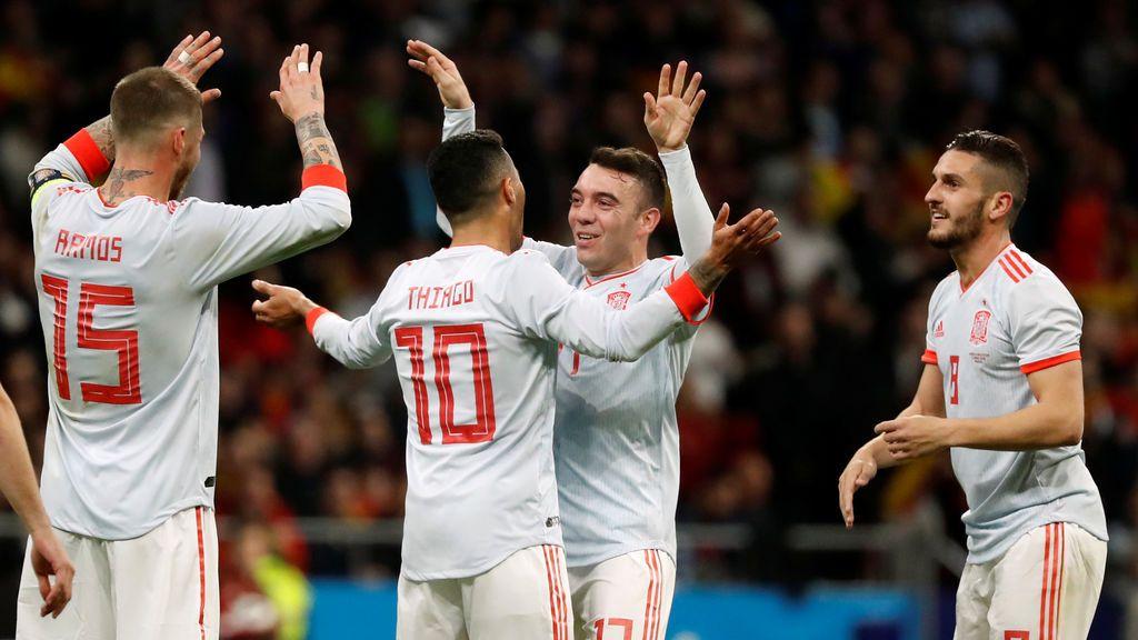 España jugará ante Suiza su último partido antes del Mundial de Rusia