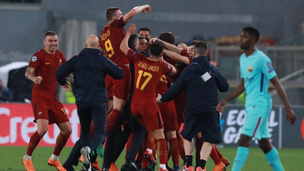 Un hombre se equivoca al apostar en el Roma-Barcelona y gana 42.000 euros