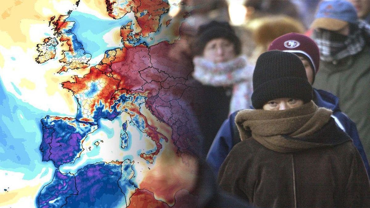 -2 en León y -1 en Ávila: hasta cuándo va a hacer tanto frío