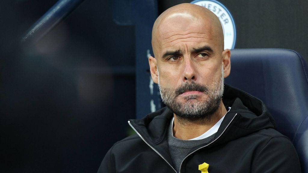 """Guardiola: """"No insulté a Mateu, sólo le dije que no había sido fuera de juego"""""""