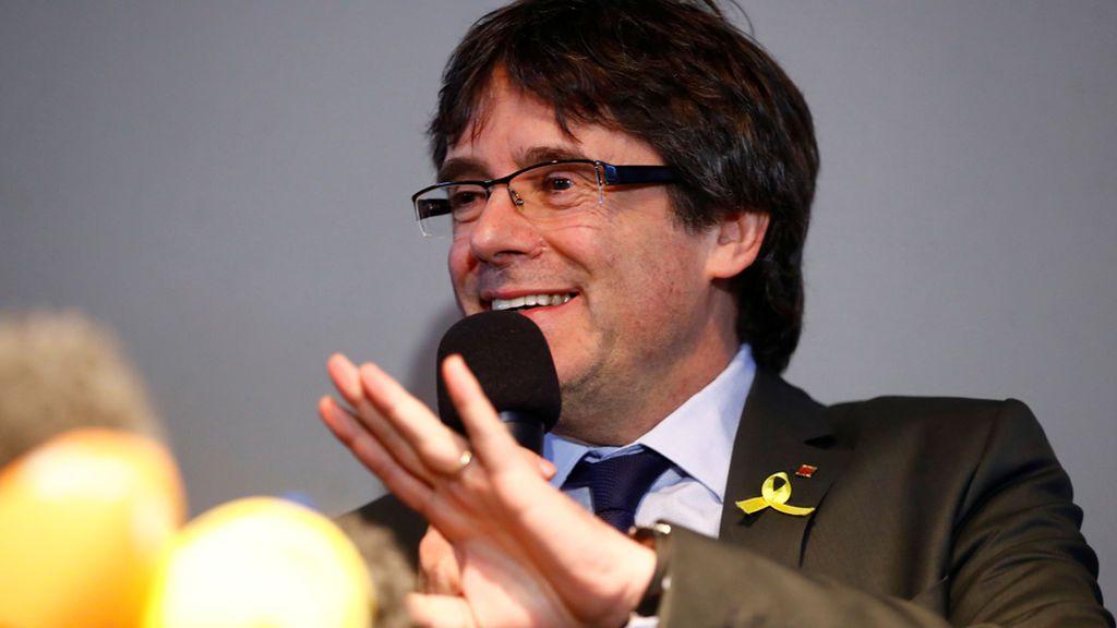 Fiscales alemanes y españoles abordan en La Haya el caso Puigdemont
