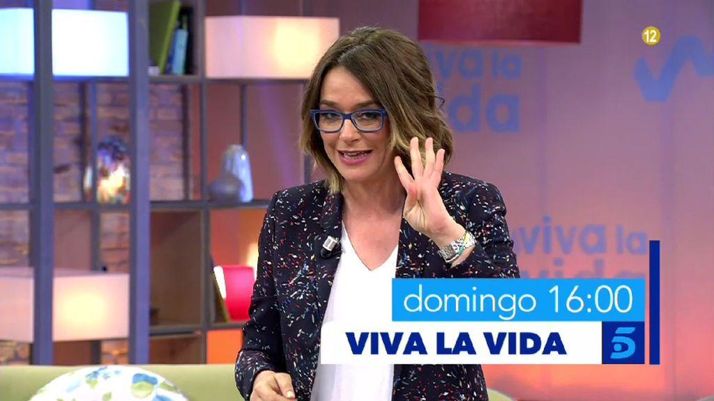 Raphael pasa su gran domingo en 'Viva la vida'