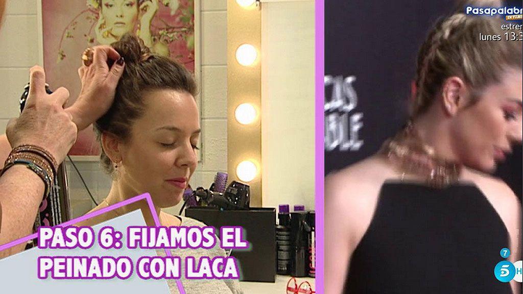 Ya no tienes que envidiarla: ¡Así se hace moño trenza de Blanca Suárez!