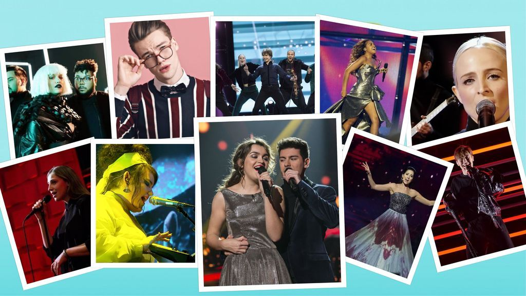 Menos de un mes para Eurovisión: Estos son los rivales de Alfred y Amaia