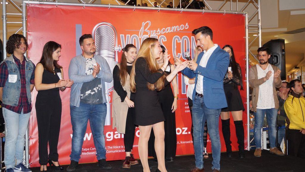 Arrancan las actuaciones  de 'Gana con tu voz' en Barcelona